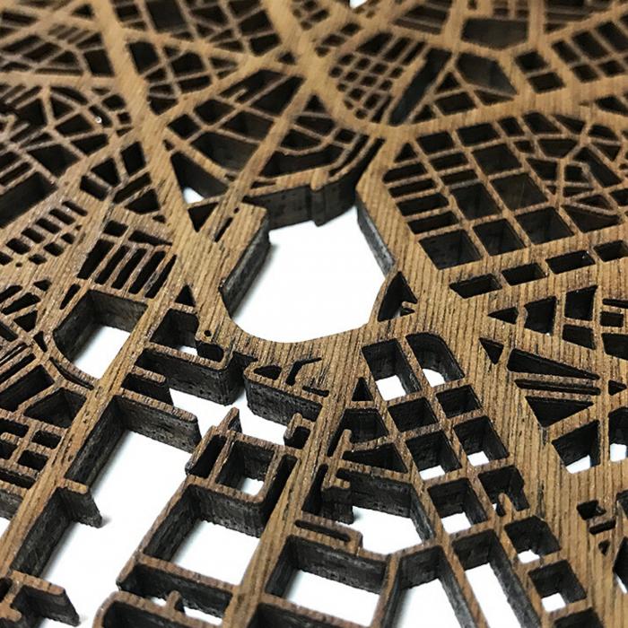 Corte laser en madera